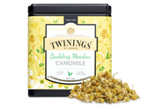 Camomile herbal infusion.  Rich, mellow, camomile with natural sweet notes. The best camomile evokes the essence of a summer meadow: floral, uplifting and with a breezy scent that calms the spirit.  By using whole pollen heads our Masterblenders capture the sweet nature of camomile, creating a blend that carries you gently to the meadow of your imagination.    INGREDIENTS Camomile