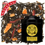 Handsome and delicious! This BEAU BREAKFAST TEA is a flavourful blend of suave black tea enriched with the round and enveloping taste of Bengal quince, enlivened by a tonic hibiscus rich in vitamin C.  The most beautiful way to begin the day.