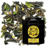 A composition of noble spring Darjeeling with an invigorating inflection of zesty Japanese yuzu.  When two cultures unite their tea savoir-faire, the amazing aromas joyously spirit us away on a journey spanning a thousand magnificent locales.