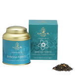 Bancha Fiorito is a blend that combines the freshness of the famous Bancha tea with the fragrance of jasmine tea.  A lively beverage, of a clear, bright colour and a special flowery and persistent flavour.  Green Tea, jasmine flowers