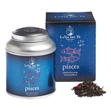 Chinese green teas, flavours, strawberry pieces, red rose petals