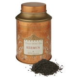 Keemun is the most famous of China's black teas, requiring great skill to produce. The delicate leaf provides a rich, brown, lightly scented and almost nutty liquor that is terrific on its own but also takes extremely well to milk to bring out extraordinary smoothness.