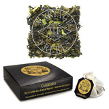 A fine marriage of green tea with Moroccan mint and bergamot-flavoured tea.