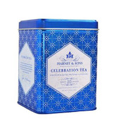 Celebration Tea captures the magic of the seasons, especially Hanukkah. Based on traditional English flavors, this irresistible blend of black tea, apricot, hazelnut, cinnamon, and beautiful cornflowers is perfect for gatherings of friends and families. Savor this limited edition tea anytime of the day or gift it to someone you love.