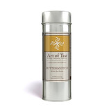 One of the world s most beloved confections has found its way into your teacup. Embrace the buttery warmth of this golden hued white tea infusion as it dances on your palette and illuminates your soul. 1.5oz per tin (Approx. 29 servings)   Water Temperature: 175-185 F degrees Steep Time: 1-3 minutes Suggested Serving Size: 1 Tbsp/8oz Caffeine Content: Medium Ingredients: Organic White Tea, Organic Cinnamon, Organic Pink Peppercorn, Organic Marigolds, Natural Flavors Origin: Art of Tea Blend