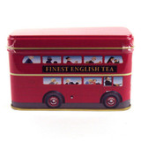 London Bus Tin 10 Teabags not only provides you with tasty teabags, but you'll also get a cute tin to proudly show off in your kitchen.  The bus design is certainly eye-catching and will really delight guests.  The teabags are also perfect for making a great cuppa each time.