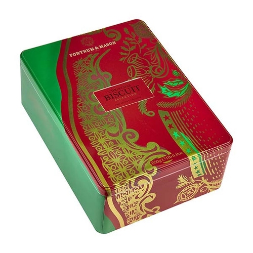 Christmas Biscuit Selection Tin, 650g