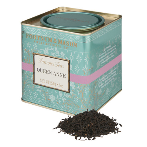 Created in 1907, our bicentenary year, this popular blend commemorates the reigning sovereign in the year that Fortnum & Mason first began. The smooth blend of carefully selected TGFOP Assam and Ceylon FBOP teas produces a strong, smooth tea refreshing at any time of day.