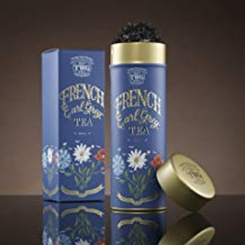 A fragrant variation of the great classic, this TWG Tea black tea has been delicately infused with citrus fruits and French blue cornflowers.   Net Weight : 100g