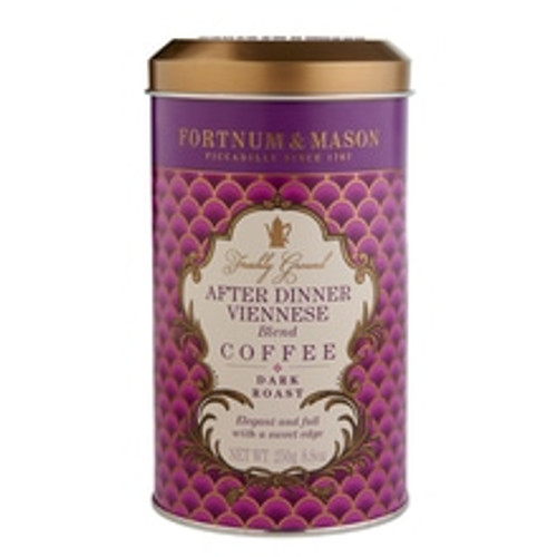 This is a classic Viennese blend, dark-roasted for a strong, full-bodied taste with a Freudian touch of sweet, roasted fig that rounds off any scrumptious supper with aplomb.