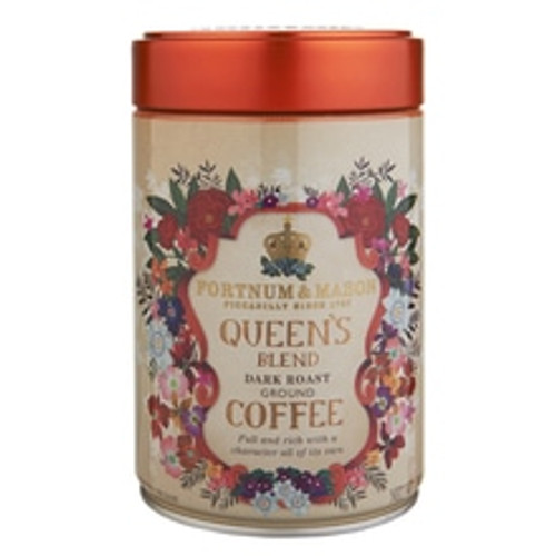 Originally created in the early 1900s for Alexandra, the wife of Edward VII and a woman of considerable good taste, Queen's Blend coffee has evolved over the years into today's stimulating blend. Combining the finest washed Arabica coffees from small farmers in East Africa and South America, this is a full and rich coffee with a character all of its own. The slow roasting of this coffee delivers an intense, berry-like flavour and a warming, spicy finish.   When to drink:  Ideal for breakfast or early afternoon.   Origin:  Kenya, Ethiopia, Colombia   Brewing guide:  Best for use in cafetières and filter methods. Brew at a ratio of 55-60g of coffee per litre of water for best results.