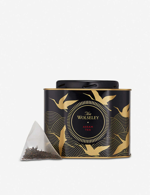 Rich and full-bodied, the malty flavour of this black assam tea is unique to Northern India's Brahmaputra Valley. Best enjoyed with a drop of milk