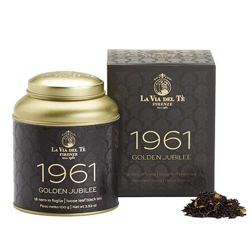 LA VIA DEL TE: 1961   Loose leaf tea in 100 g. tin