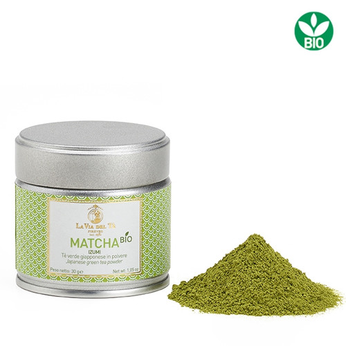 Prized powdered organic green tea from shaded plantations. It maintains all the chemical components of the tea leaves and is also excellent as a sophisticated and multi-faceted ingredient for sweet or savoury dishes, ice-creams, creams, biscuits and elegant sauces.