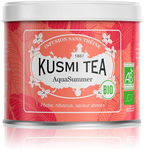 AquaSummer (Organic herbal tea) 100g loose tea Tin