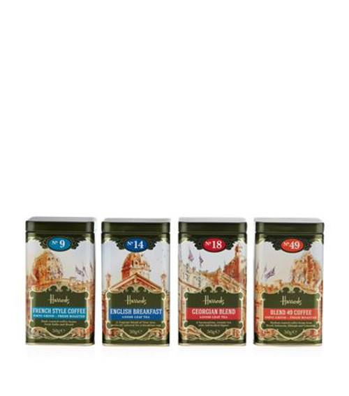 OVERVIEW This gift pack from the Harrods Heritage collection contains a special selection of tea and