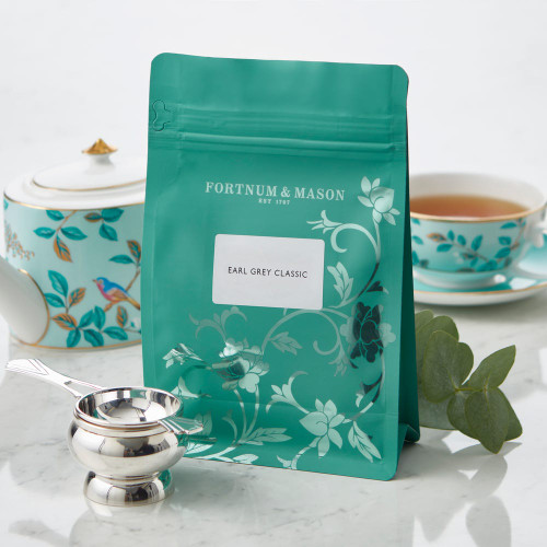 British Prime Minister Earl Grey gave his name to this hugely popular tea back in the 1830s, and has since been thought of as a classic English afternoon tea. Its flavour is made up of simple black tea flavoured with stimulating oil of bergamot.  Perfect for topping up your existing Fortnum's tea caddy