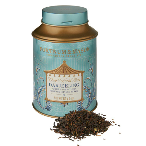 In tea as in wine, challenging growing conditions often yield the most highly prized specimens. This champagne of teas, harvested from the foothills of the Himalayas, is one of the highest-grown teas, delivering a subtle Muscatel taste.
