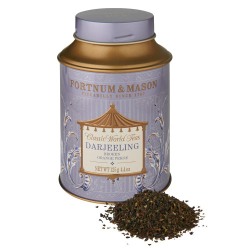 This justly famous black tea from the bracing foothills of the Himalayas has a vivid, coppery infusion. The broken leaf grade gives a stronger brew, which suits those who prefer to take their Darjeeling with milk