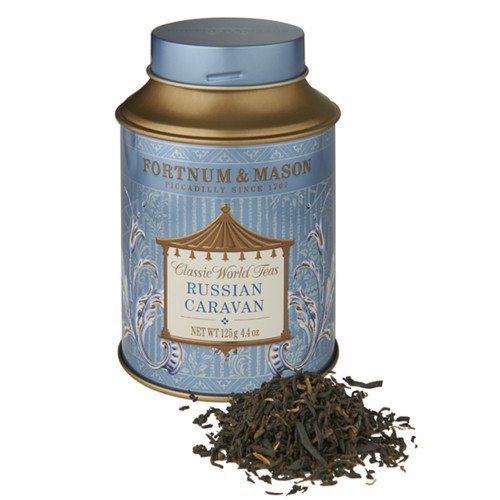 This blend of China black Keemun and oolong teas recalls the ancient trading routes that brought tea to the Tsars, when tea was transported from China to Russia in a caravan of camels. Its light, nutty flavour and character evoke the grandeur of Imperial Russia.