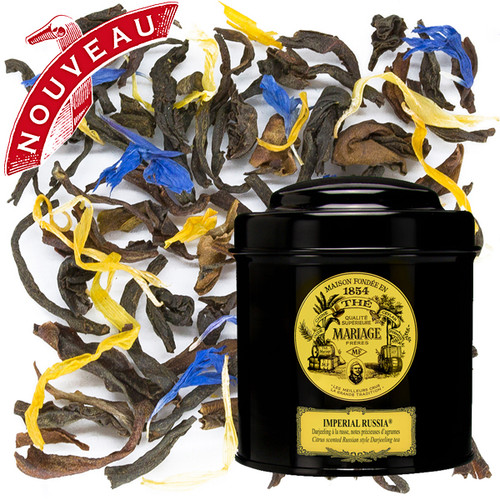 IMPERIAL RUSSIA® Russian style Darjeeling,  delicate citrus notes