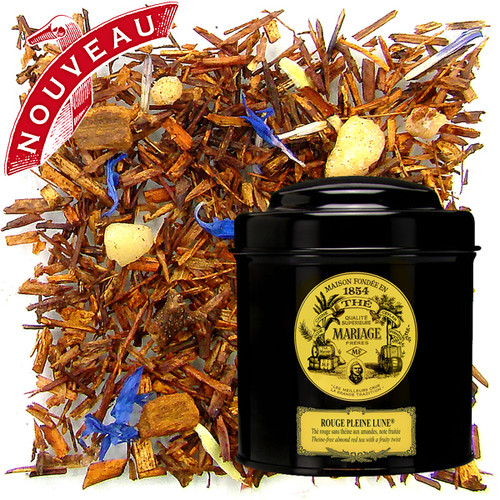Naturally theine-free, sweet and velvety red tea with sophisticated tropical fruit and rare spice flavours, along with cloves, almonds and the sweet taste of honey.