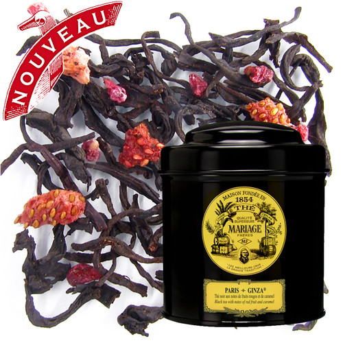 Elegant black tea offering the sweetness of a creamy caramel and the delightfully fresh aromas of red fruit.
