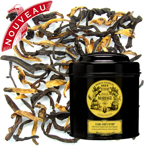 This original composition of noble black teas from Assam, rich in golden buds, favours the expression of the divine bergamot which offers the cup its zesty tenderness.