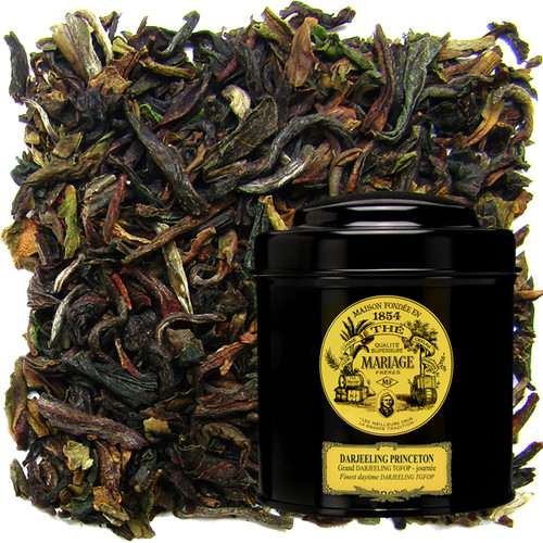 An extremely refined and subtle blend of first flush teas from various estates.   A brisk, flowery tea of incomparable flavour.