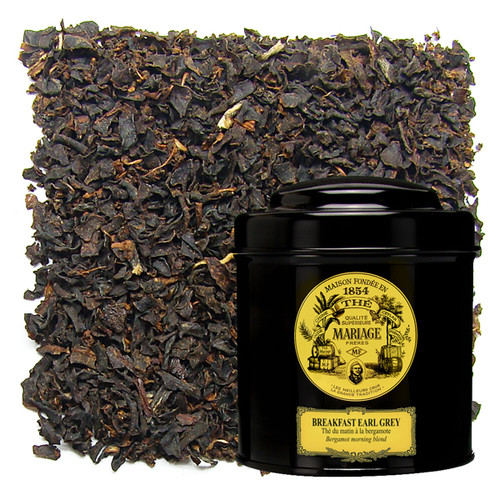 A magnificent, noble marriage of full-bodied Ceylon tea and the delicate scent of bergamot.   An ideal morning beverage, strong yet refined.