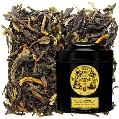 FRENCH BREAKFAST TEA® Black tea for breakfast  elegant & refined full bodied blend
