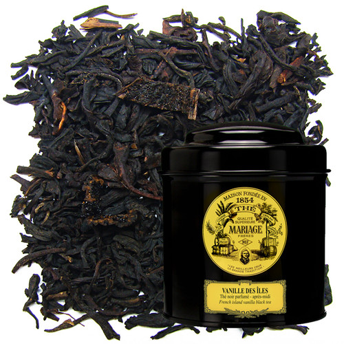 A great black tea flavoured with the sweet Bourbon vanilla.