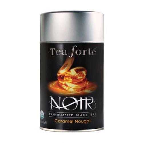 Ingredients: Fair Trade certified organic black tea, organic orange peel, natural caramel flavour, organic marigold flowers, natural hazelnut flavour