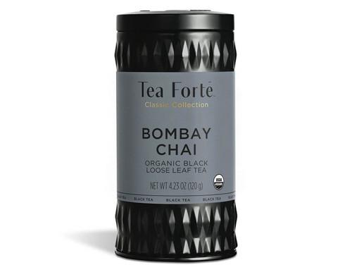 Ingredients: black tea, ginger, cinnamon, cardamom, cloves, star anise, black pepper, natural flavoring (vanilla)