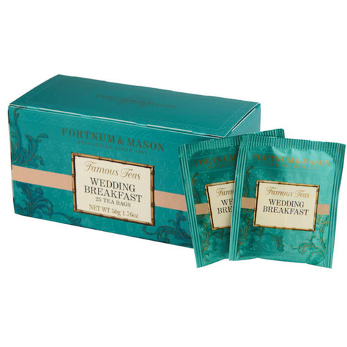 A special blend created to mark the wedding of the Duke and Duchess of Cambridge in 2011. Deservedly popular at the time of the wedding, this splendid mix of Assam lifted by Kenyan tea has now permanently joined the ranks of Fortnum's heritage teas.