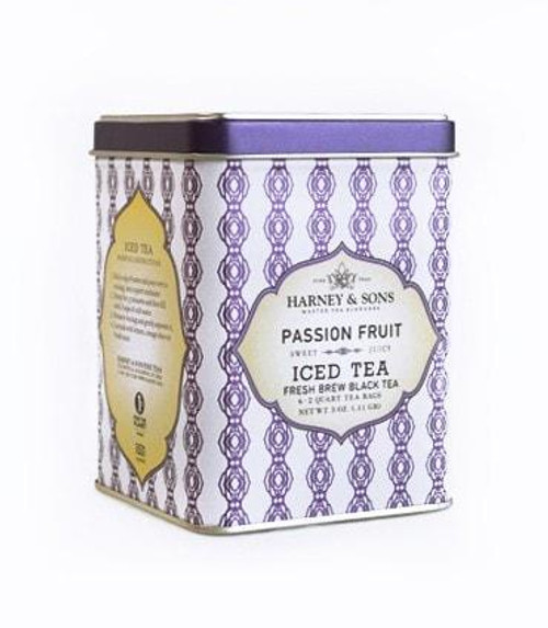 Hand-picked full leaf Chinese black tea masterfully blended with sweet passion fruit for a fresh tropical twist.