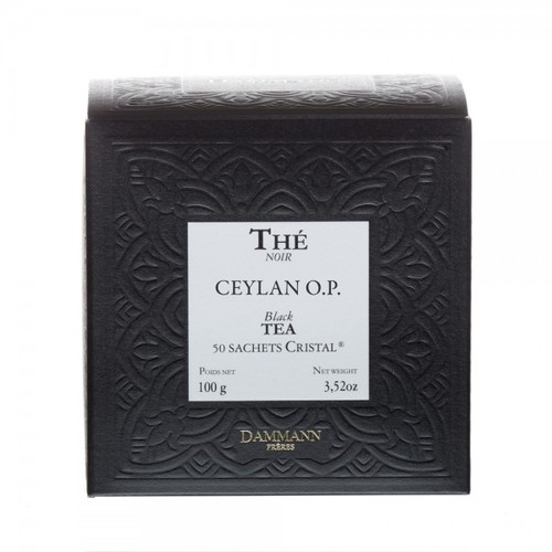 A beautifully regular leaf creating a subtly scented infusion with beautiful woody notes. Perfect tea to be enjoyed in the afternoon. Box of 50 Cristal® teabags Net weight: 100 g / 3,52 oz Dominant note: Plain Type(s) of tea: Black Tea