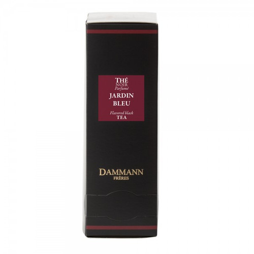 A blend of black teas perfumed with the mouth-watering aromas of rhubarb, strawberry and wild strawberry. This iconic Dammann Frères tea is always delicious, whether enjoyed hot or chilled. Box of 24 enveloped Cristal® teabags Net weight: 48 g / 1,69 oz  Dominant note: Orchard fruits Note(s) secondaire(s) : Red fruits Type(s) of tea: Black Tea Main flavour: Rhubarb Complementary flavour(s): Strawberry