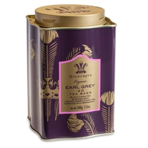 Traditional with a twist, this Organic Earl Grey Blend combines black china tea with lighter green tea, scented with aromatic and invigorating bergamot. Produced exclusively for Fortnum's and HRH The Prince of Wales' Highgrove Estate, this Earl Grey Blend is 100% Organic.