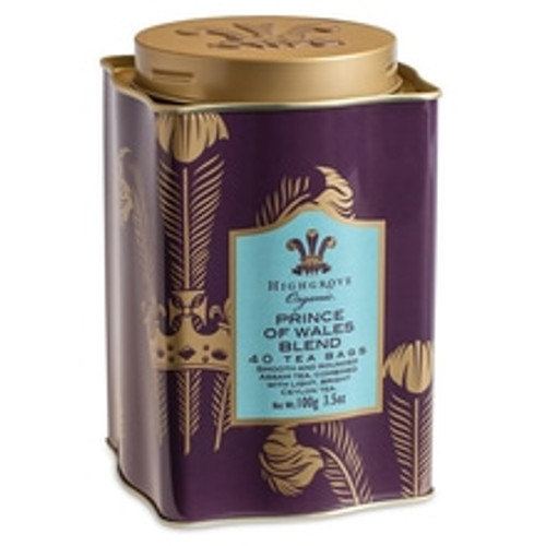 Produced exclusively for Fortnum's and HRH The Prince of Wales' Highgrove Estate, this very regal blend combines smooth and rounded Assam tea with light, bright Ceylon to make a rich and refreshing tea with a golden, rich and robust taste. A particularly satisfying morning brew.