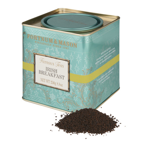 A bracing blend of expertly selected Assam and Kenyan teas; the first provides maltiness, the second adds brightness. A cup of this Fortnum's Irish Breakfast Tea with a splash of milk will give an uplifting start to the top of the morning.
