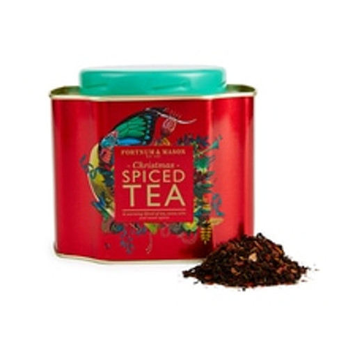Warm yourself up this Christmas with the exotic flavours which have been added to this Fortnum's blend. This Christmas Spiced Tea has a festive seasonal flavour from zesty clementine and bold spices. With the addition of delicious cocoa nibs, this tea finishes any Christmas afternoon treat.