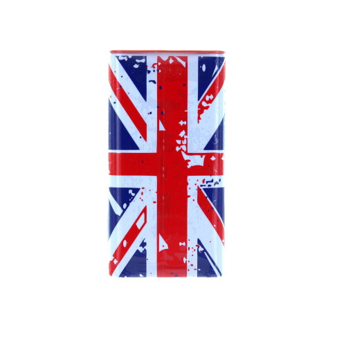 New English Teas Travel Mints Union Jack come in a decorative tin with a Union Jack design.  The mints are perfect for taking with you on your next journey to keep your breath minty fresh.