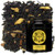 Black tea welcomes a plethora of imperial spices: cloves, cinnamon, ginger, cardamom and pepper make for a warming, piquant brew