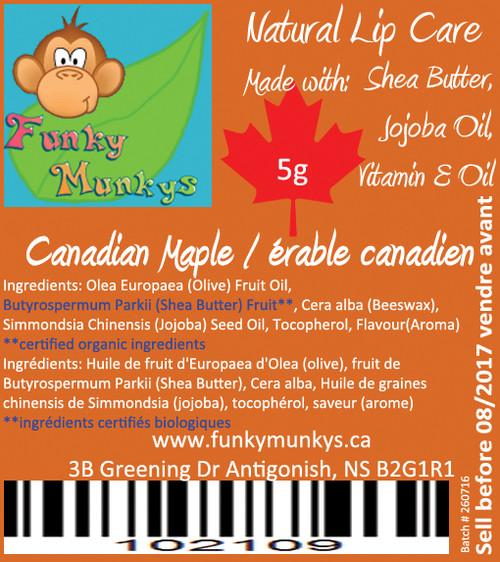 Lip Balm - Canadian Maple