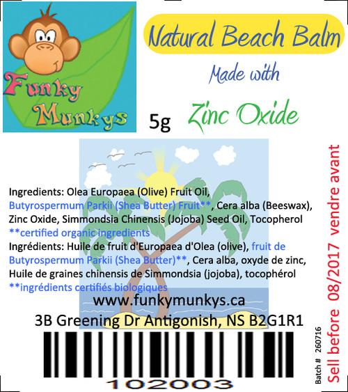 Lip Balm - Natural Beach Balm