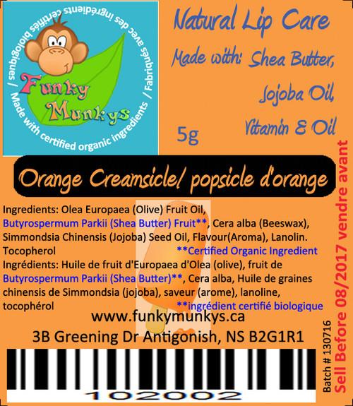 Lip Balm - Orange Creamsicle