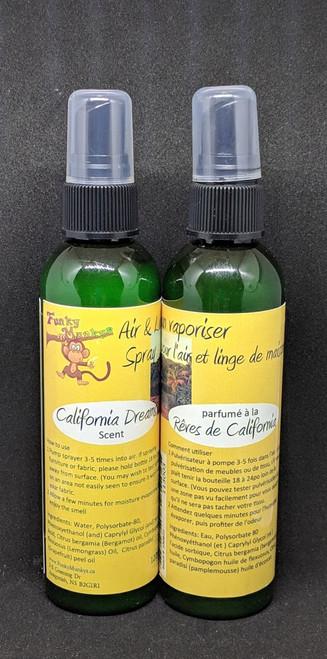 Air & Linen Spray - California Dreams