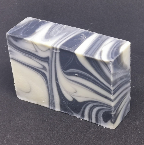 Bar Soap - Unscented Swirlz Black with Activated Charcoal