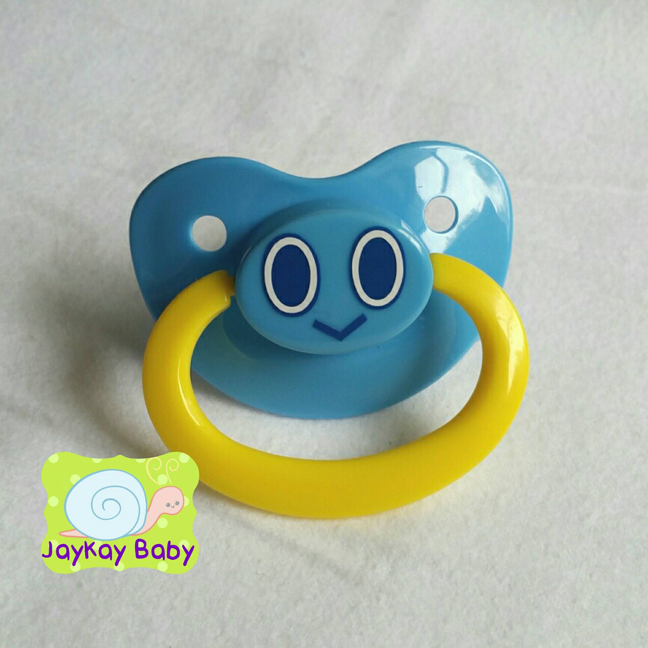 Chao Character Themed Adult Pacifier Jaykaybaby